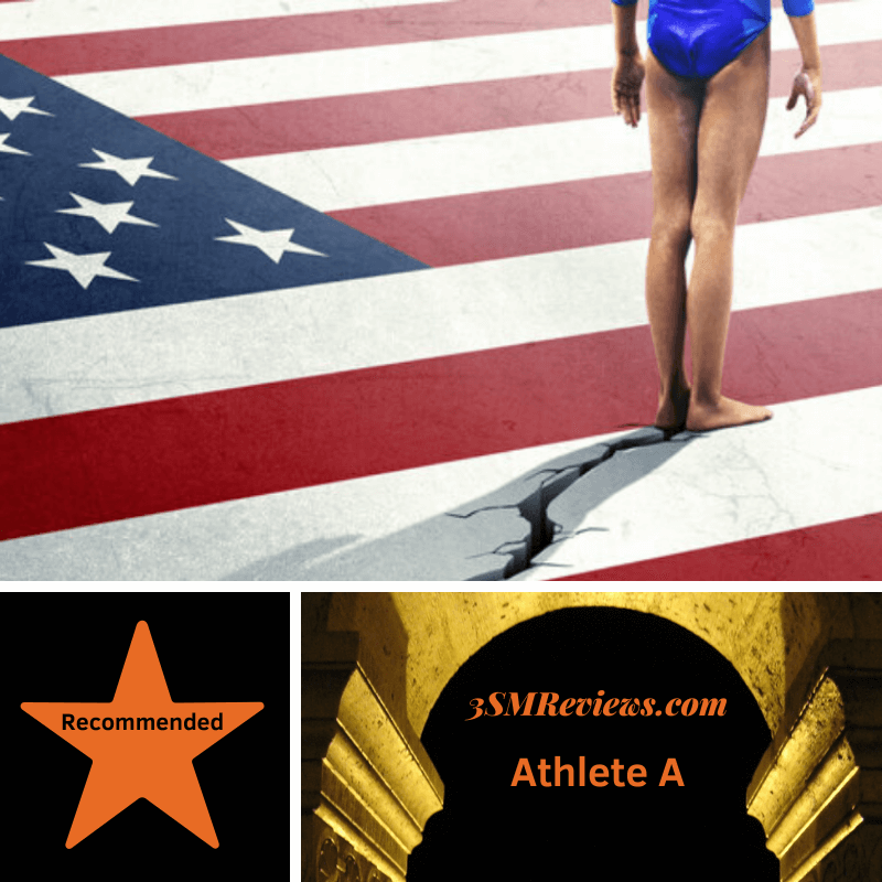 Picture from Athlete A. Star with text Recommended. Arch with text: 3SMReviews.com: Athlete A