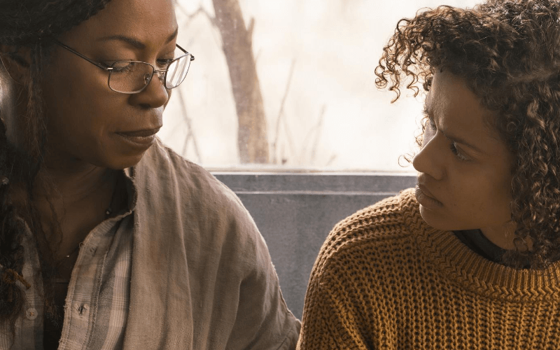 Photo: Lorraine Toussaint and Gugu Mbatha-Raw in the film Fast Color