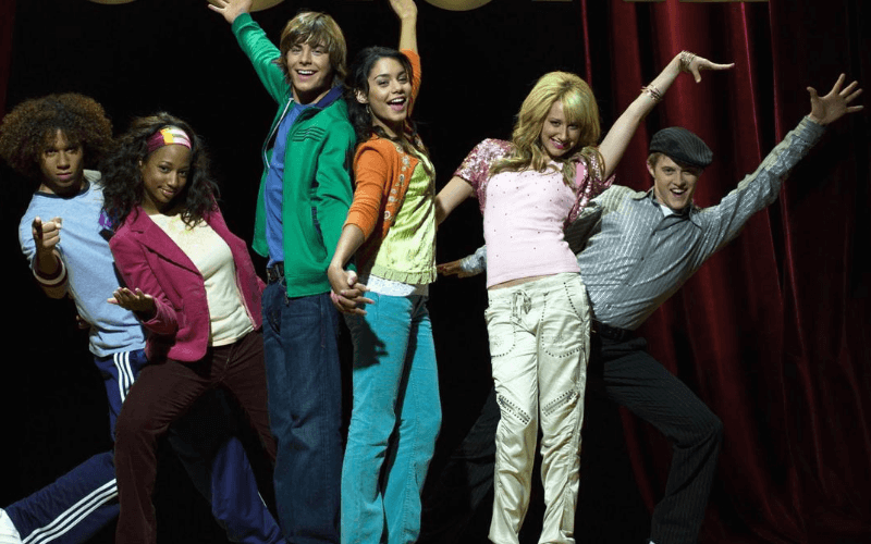 Picture of Corbin Bleu, Monique Coleman, Zac Efron, Vanessa Hudgens, Ashley Tisdale, Lucas Grabeel in High School Musical
