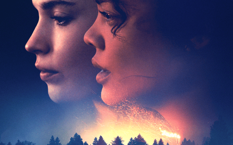 Picture of Lily James and Tessa Thompson in the film Little Woods