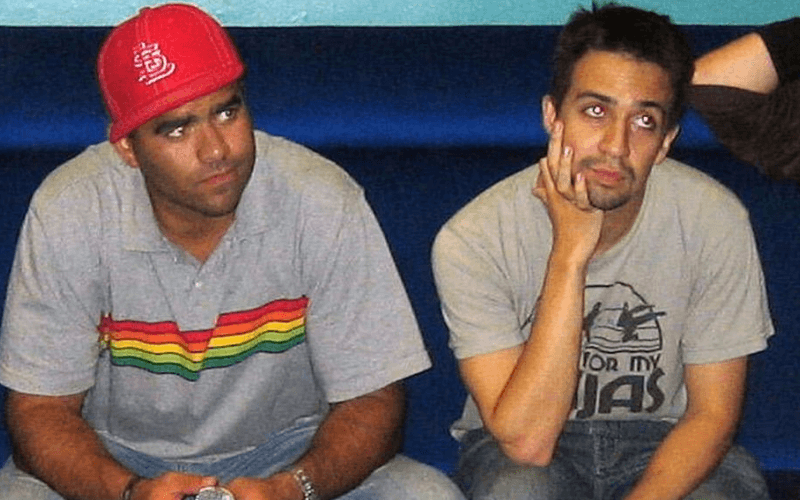 Chris Jackson and Lin-Manuel Miranda in 2005