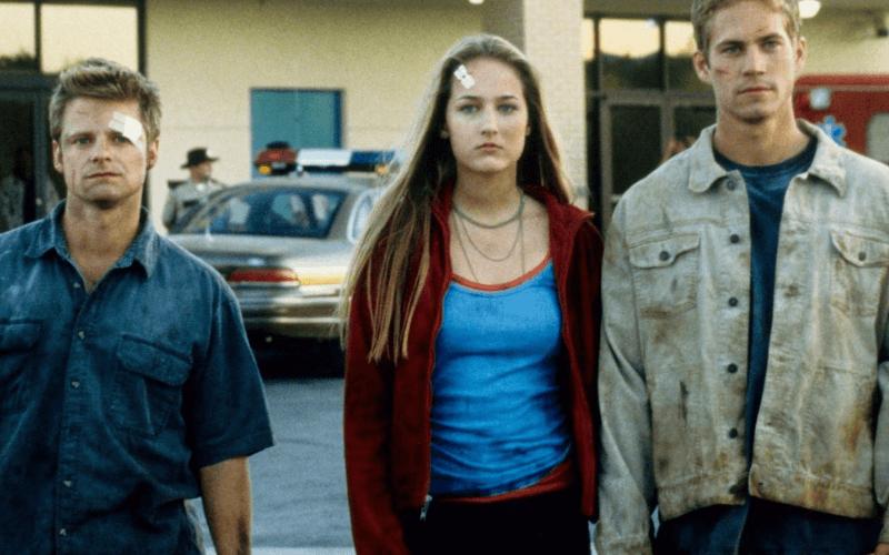 Picture of Steve Zahn, Leelee Sobieski and Paul Walker in the 2001 film Joy Ride