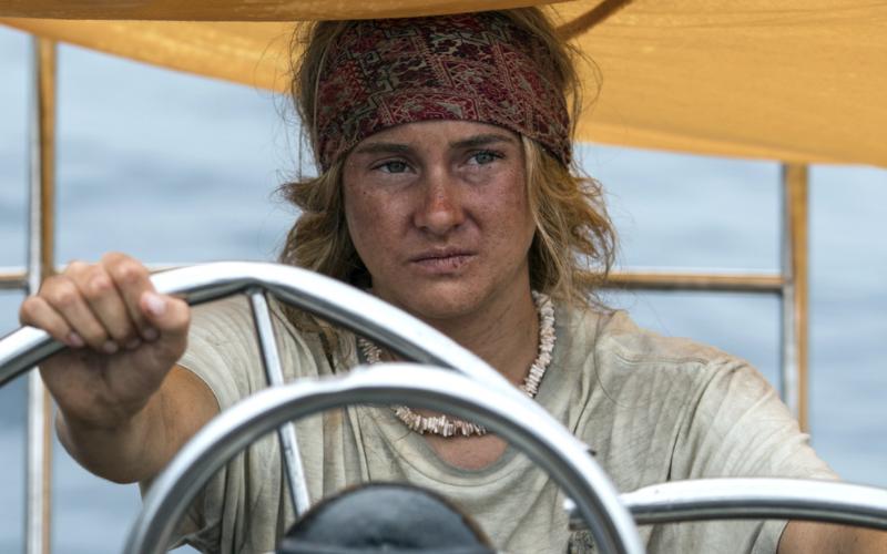 Shailene Woodley in the film Adrift.
