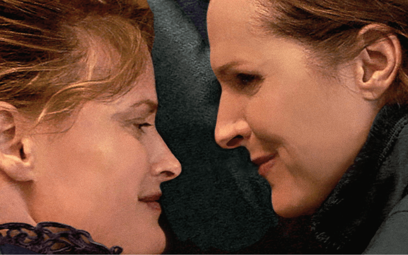Susan Ziegler and Molly Shannon in Wild Nights With Emily