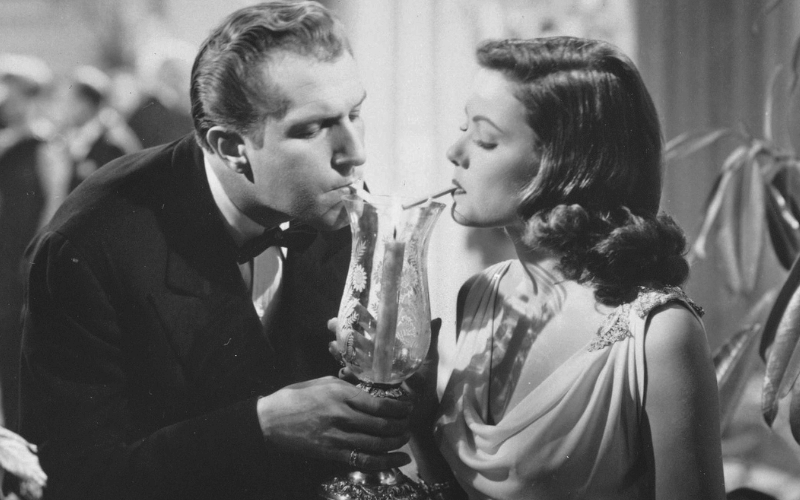 Vincent Price and Gene Tierney in Laura.