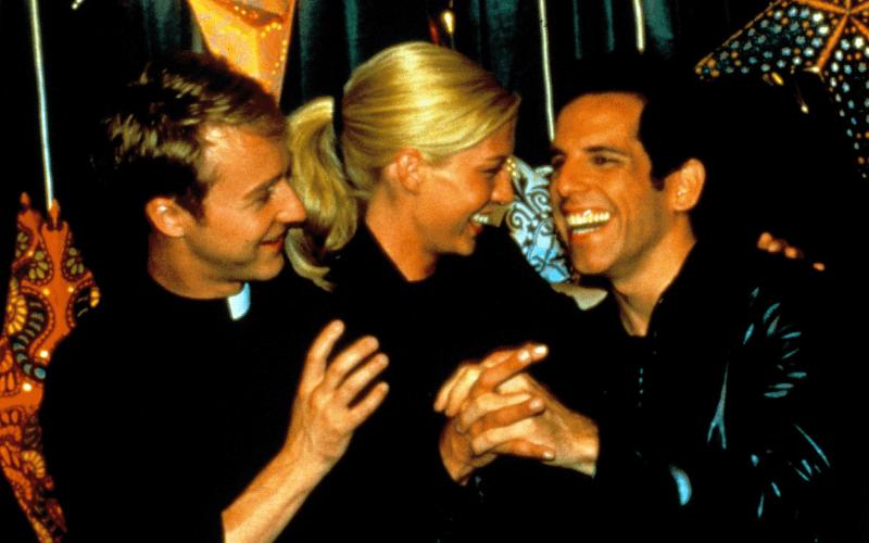 Edward Norton, Jenna Elfman, Ben Stiller in Keeping the Faith